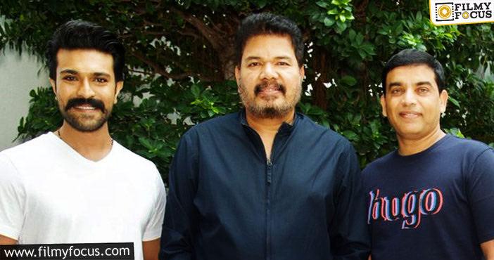 Ram Charan Met Shankar Yesterday In Chennai1